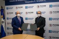 Grupo Popular y PUCMM ratifican convenio de colaboración para la formación especializada en RSE y sostenibilidad